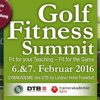 Golf Fitness Summit 2016