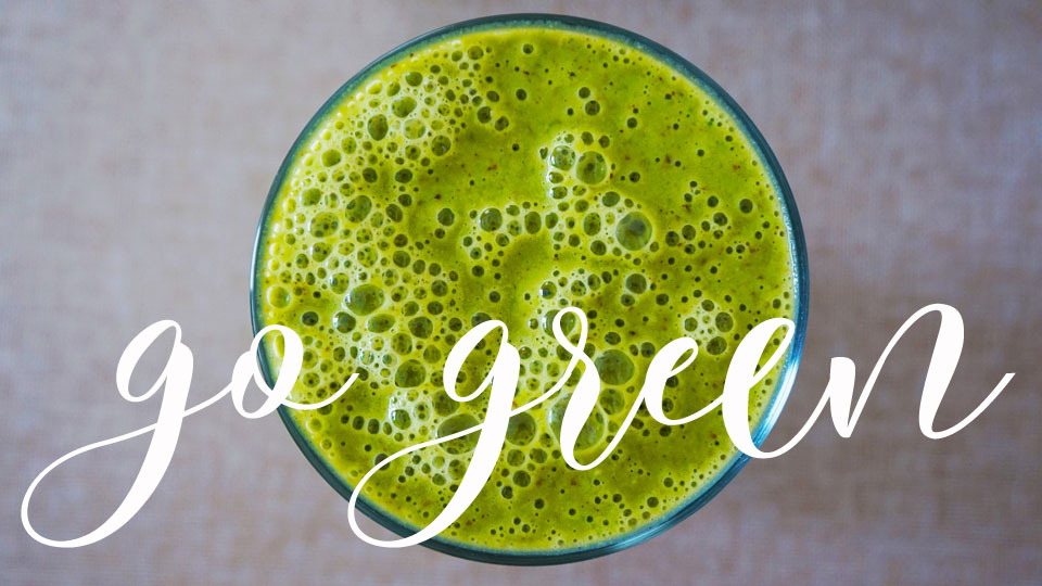 go green - Weizengrassaft ist Power pur! - Das Pilates Studio Baden-Baden