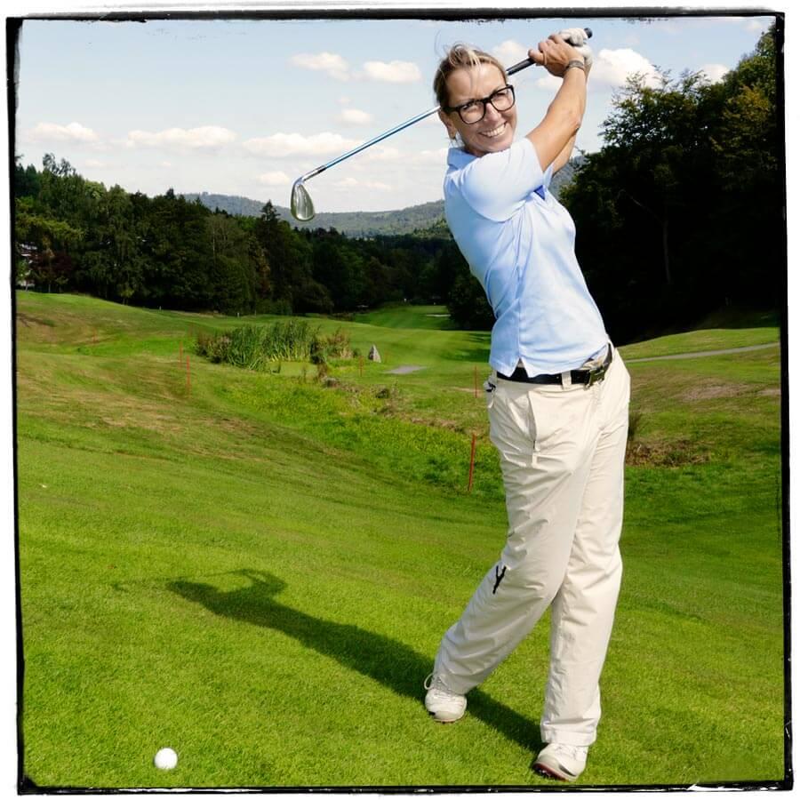 Golf Fitness, Iris de Hoogd